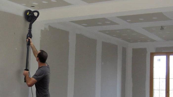 fartools dws 710 ponceuse murale placopl tre le test. Black Bedroom Furniture Sets. Home Design Ideas